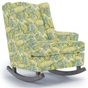Best Home Furnishings Runner Rockers Willow Rocking Chair - Item Number: 0175-30051