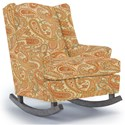 Best Home Furnishings Runner Rockers Willow Rocking Chair - Item Number: 0175-30508