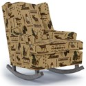 Best Home Furnishings Runner Rockers Willow Rocking Chair - Item Number: 0175-31767