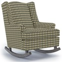 Best Home Furnishings Runner Rockers Willow Rocking Chair - Item Number: 0175-32183B