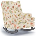 Best Home Furnishings Runner Rockers Willow Rocking Chair - Item Number: 0175-33347