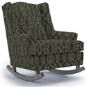 Best Home Furnishings Runner Rockers Willow Rocking Chair - Item Number: 0175-33892