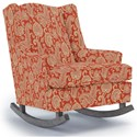 Best Home Furnishings Runner Rockers Willow Rocking Chair - Item Number: 0175-34064