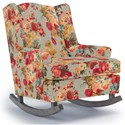 Best Home Furnishings Runner Rockers Willow Rocking Chair - Item Number: 0175-34223