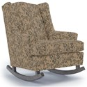 Best Home Furnishings Runner Rockers Willow Rocking Chair - Item Number: 0175-34419