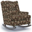 Best Home Furnishings Runner Rockers Willow Rocking Chair - Item Number: 0175-34626A