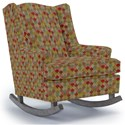 Best Home Furnishings Runner Rockers Willow Rocking Chair - Item Number: 0175-34718
