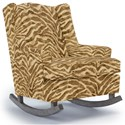 Best Home Furnishings Runner Rockers Willow Rocking Chair - Item Number: 0175-35816