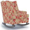 Best Home Furnishings Runner Rockers Willow Rocking Chair - Item Number: 0175-35858
