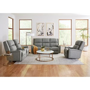 Best Home Furnishings Rynne Reclining Living Room Group
