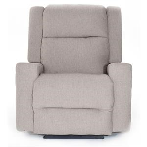Best Home Furnishings Rynne Power Rocker Recliner w/ Pwr Head & Lum