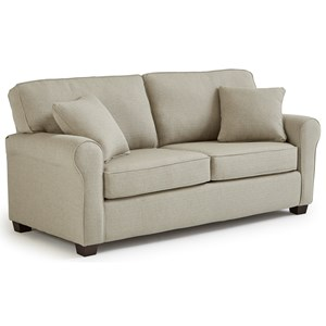 Best Home Furnishings Shannon Full Sofa Sleeper w/ Air Dream Mattress