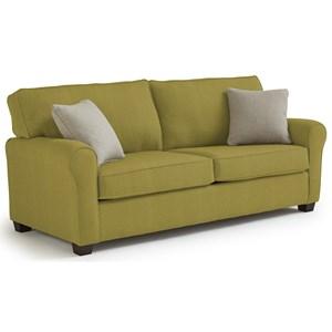 Best Home Furnishings Shannon Twin Sofa Sleeper with Air Dream Mattress Hudson s Furniture