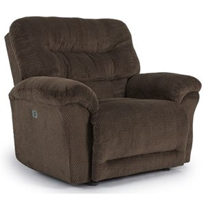 Best Home Furnishings Shelby Power Space Saver Recliner w/ Pwr Tilt Head