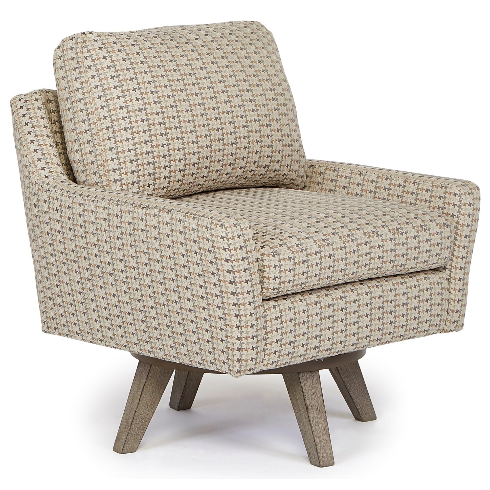 Best Home Furnishings Chairs Swivel Barrel 2508 Seymour