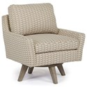 Best Home Furnishings Chairs - Swivel Barrel Seymour Swivel Chair - Item Number: 2508