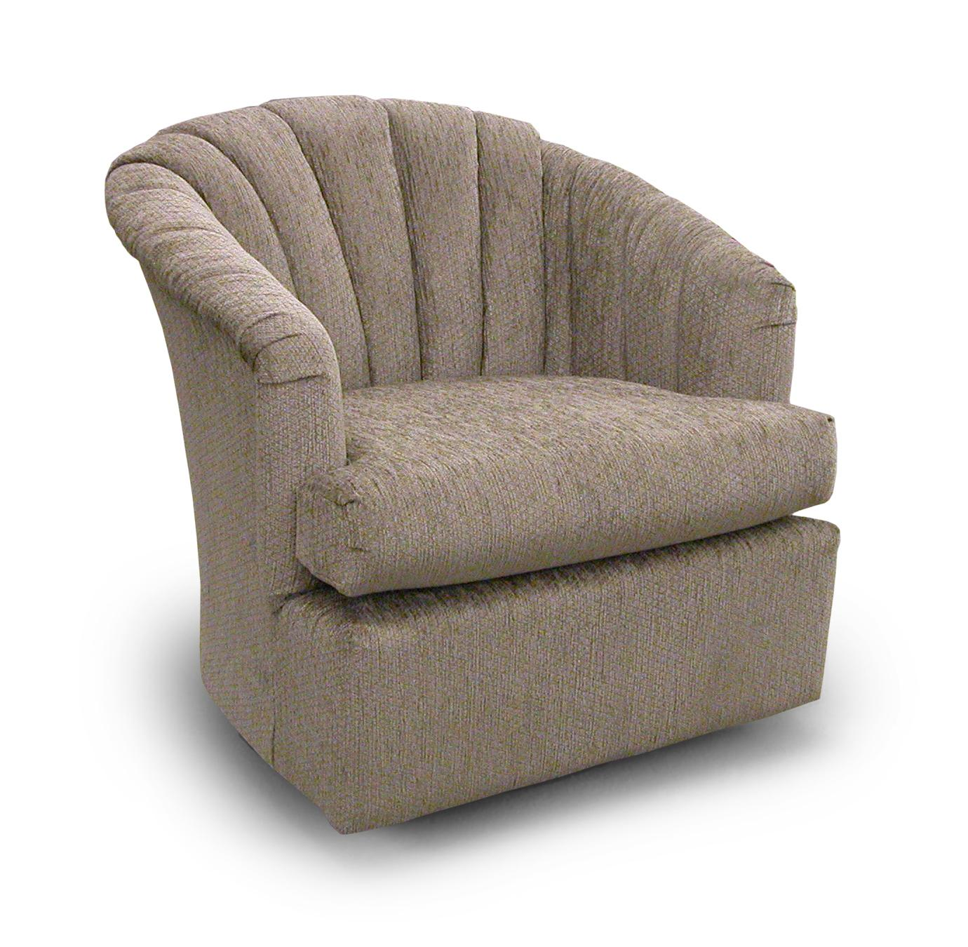 Best Home Furnishings Chairs   Swivel Barrel Elaine Swivel Glider Chair    Item Number: 2557 Part 84