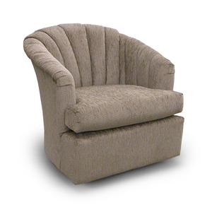 Best Home Furnishings Chairs - Swivel Barrel Elaine Swivel Glider Chair