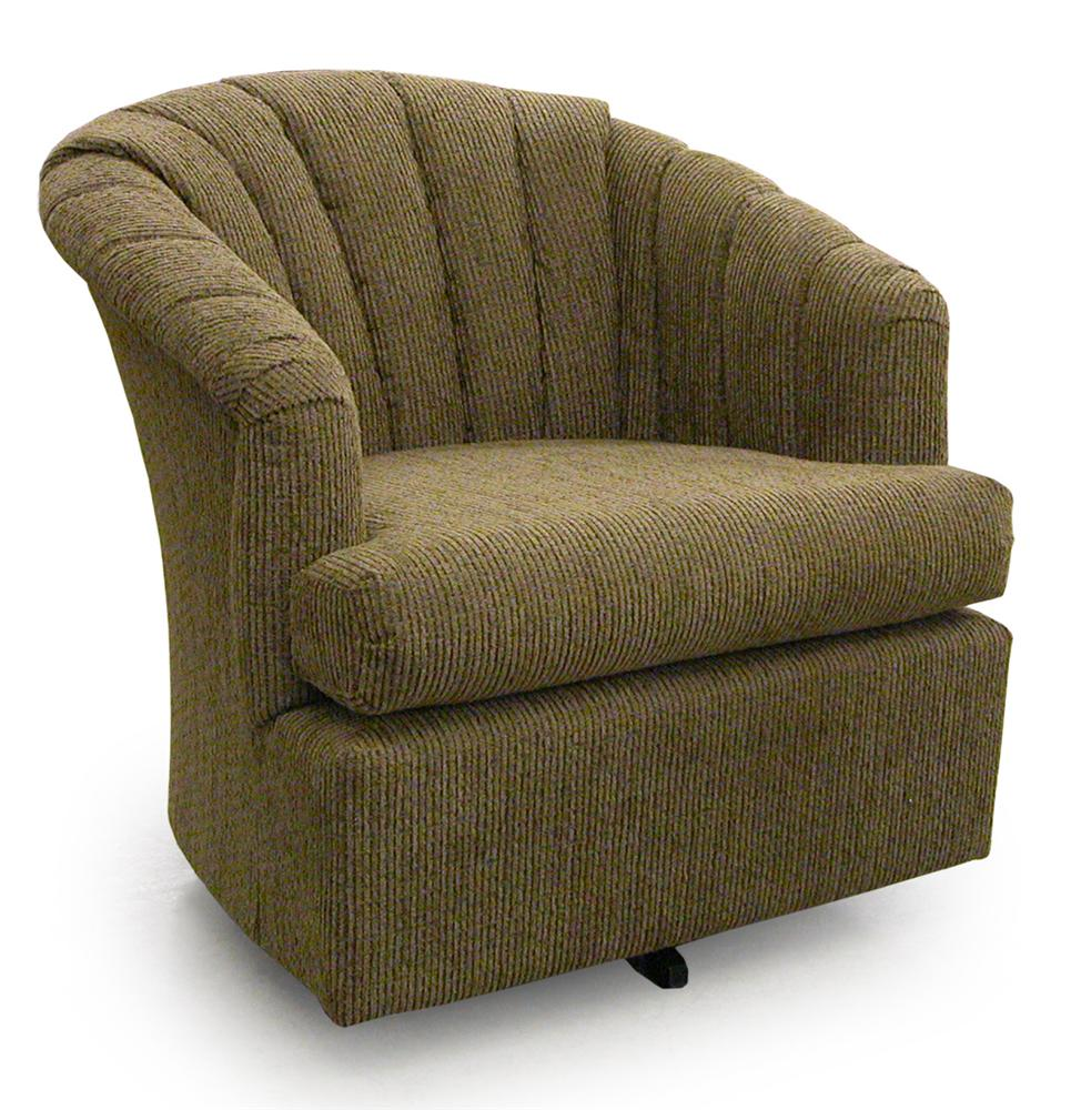 Best Home Furnishings Chairs - Swivel Barrel Elaine Swivel Barrel Chair - Item Number: 2558