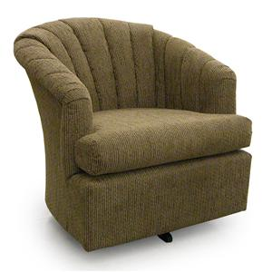 Best Home Furnishings Chairs - Swivel Barrel Elaine Swivel Barrel Chair