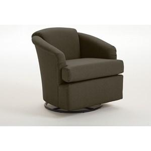 best home furnishings chairs   swivel barrel sanya swivel