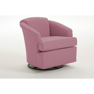 Best Home Furnishings Chairs - Swivel Barrel Cass Swivel Barrel Chair