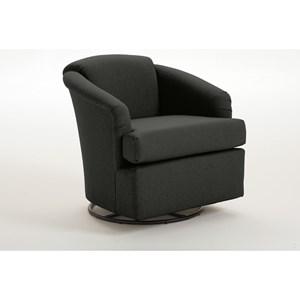 Best Home Furnishings Chairs - Swivel Barrel Cass Swivel Barrel Chair