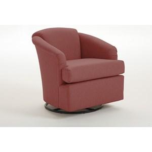 Studio 47 Chairs - Swivel Barrel Cass Swivel Barrel Chair