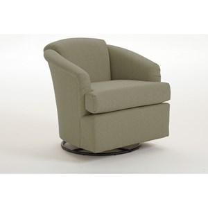 Morris Home Chairs - Swivel Barrel Cass Swivel Barrel Chair
