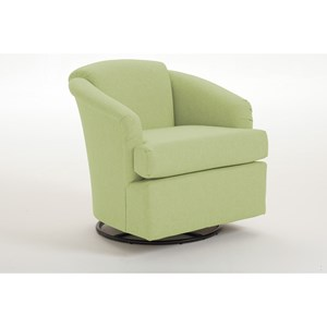 Best Home Furnishings Chairs Swivel Barrel 2468 2 Sanya