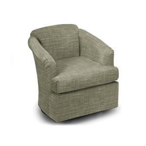 Best Home Furnishings Chairs - Swivel Barrel Fog Swivel Glider Barrel Chair