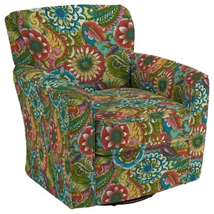 Best Home Furnishings Chairs - Swivel Barrel Kaylee Swivel Barrel Chair