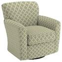 Best Home Furnishings Chairs - Swivel Barrel Kaylee Swivel Barrel Chair - Item Number: 2888-28841