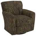 Best Home Furnishings Chairs - Swivel Barrel Kaylee Swivel Barrel Chair - Item Number: 2888-29116