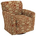 Best Home Furnishings Chairs - Swivel Barrel Kaylee Swivel Barrel Chair - Item Number: 2888-30564