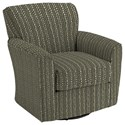 Best Home Furnishings Chairs - Swivel Barrel Kaylee Swivel Barrel Chair - Item Number: 2888-33023A