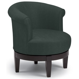 Vendor 411 Chairs - Swivel Barrel Attica Swivel Chair
