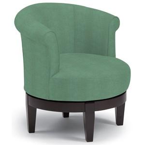 Best Home Furnishings Chairs Swivel Barrel 2468 2 Sanya