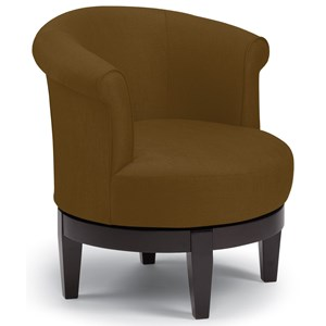Best Home Furnishings Chairs - Swivel Barrel Attica Swivel Chair