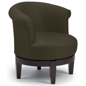 Best Home Furnishings Chairs - Swivel Barrel Attica Swivel Chair
