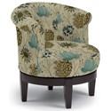 Best Home Furnishings Chairs - Swivel Barrel Attica Swivel Chair - Item Number: 2958E-34612