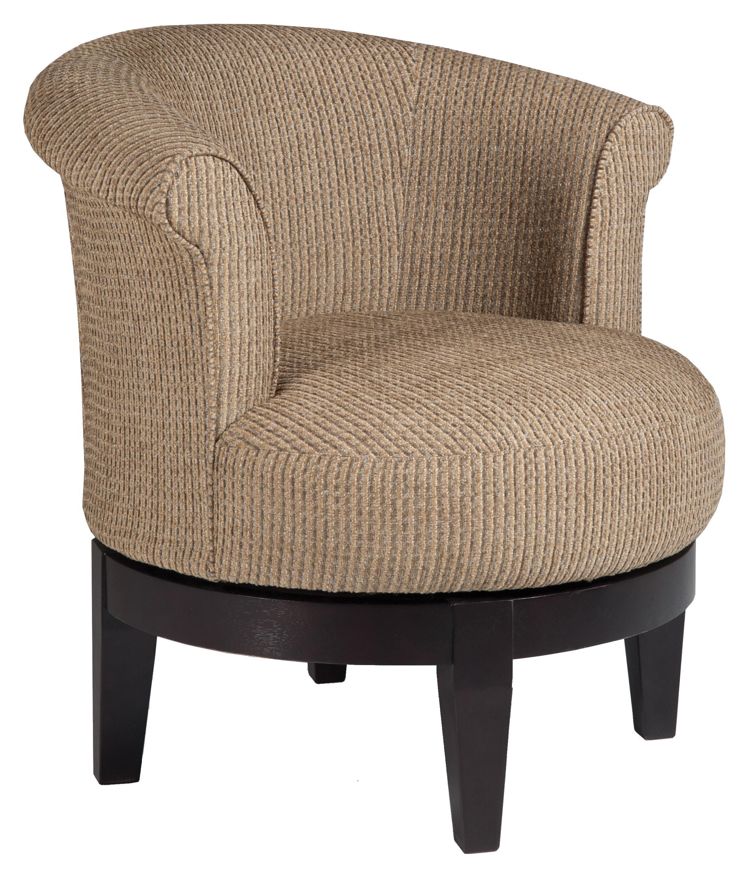 Best Home Furnishings Chairs - Swivel Barrel Chic Attica ...