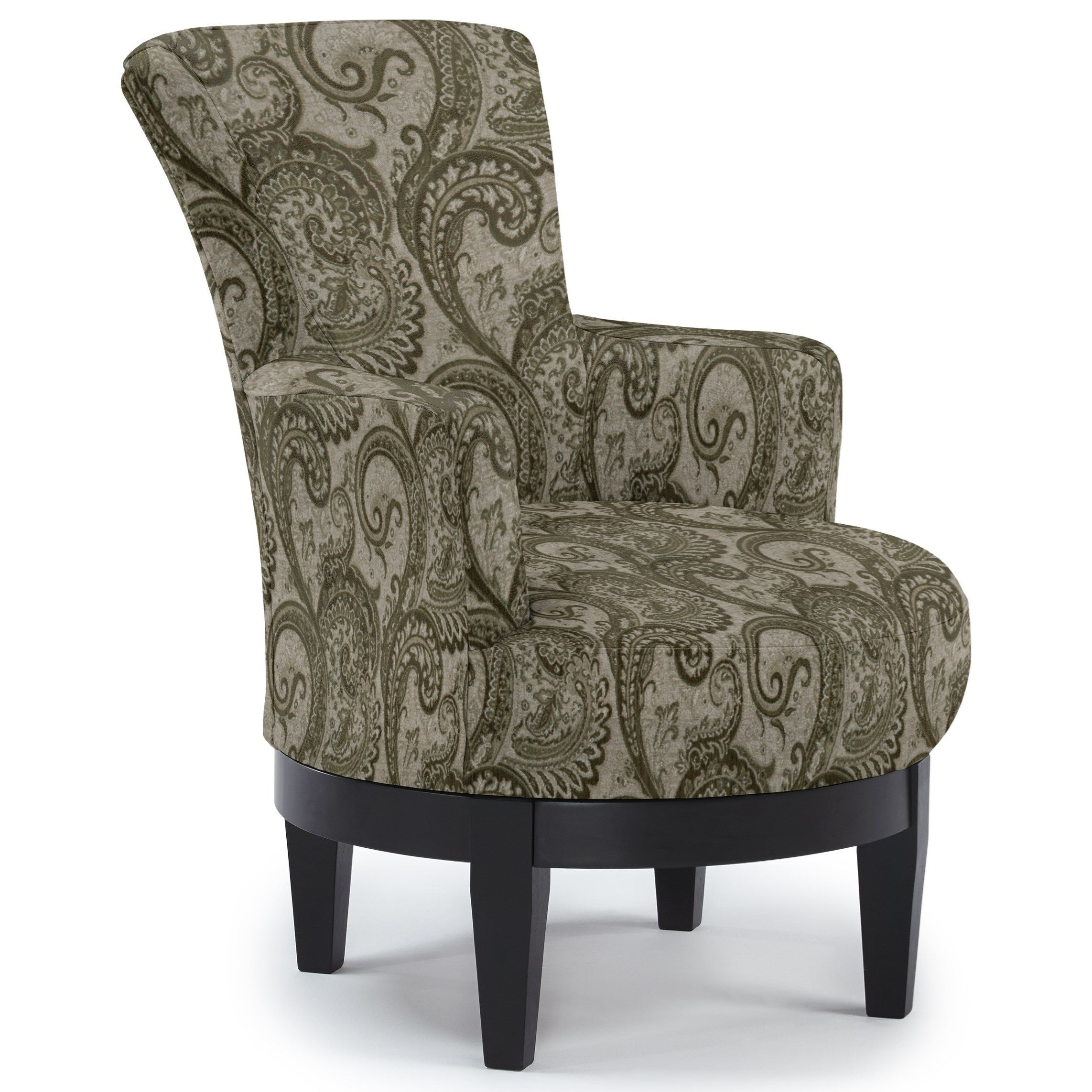 Best Home Furnishings Chairs - Swivel Barrel Swivel Chair - Item Number: 2968-28529