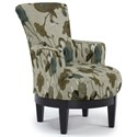 Best Home Furnishings Chairs - Swivel Barrel Swivel Chair - Item Number: 2968-29139