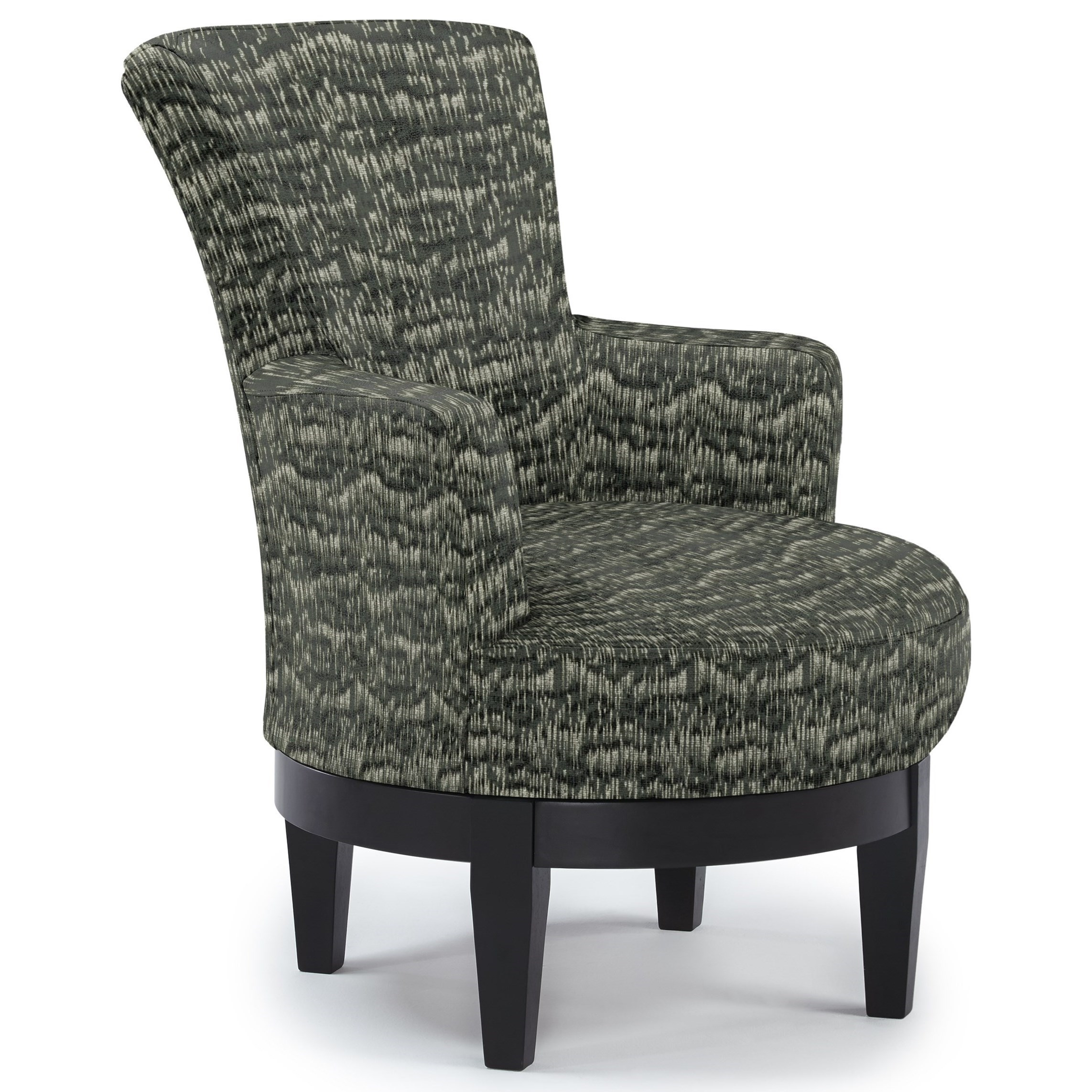 Best Home Furnishings Chairs - Swivel Barrel Swivel Chair - Item Number: 2968-31433