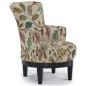 Best Home Furnishings Chairs - Swivel Barrel Swivel Chair - Item Number: 2968-34389