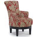 Best Home Furnishings Chairs - Swivel Barrel Swivel Chair - Item Number: 2968-35858