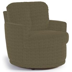 Best Home Furnishings Chairs - Swivel Barrel Skipper Swivel Chair