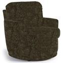 Best Home Furnishings Chairs - Swivel Barrel Skipper Swivel Chair - Item Number: 2978-25032