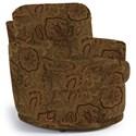 Best Home Furnishings Chairs - Swivel Barrel Skipper Swivel Chair - Item Number: 2978-26019